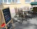 Зона возле ресторана
