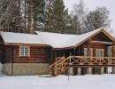 Коттедж Орляк зимой