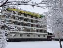 """Отель """"Солнечный"""" зимой"""