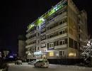 """Отель """"Солнечный"""" вечером"""