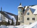 Замок зимой