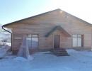 Баня(зимой)
