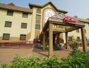 Центральный вход в гостиницу Рубин