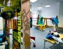 Комната для сушки и хранения спортивного инвентаря