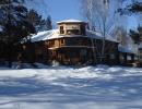 Ресторан зимой