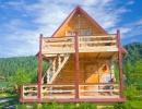 2х этажный домик из кедрового бруса