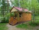 Летний дом с верандой