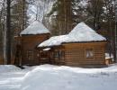 База зимой (Дом с камином)