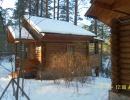 База зимой (Домики)