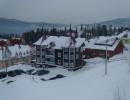 Вид с горы зимой