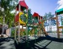 Детская игровая площадка на улице