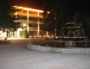 Санаторий в ночное время
