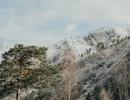 Виды с базы зимой