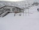 Вид зимой