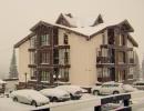 Гостиница зимой